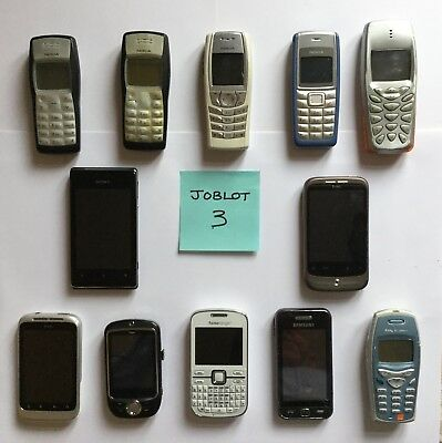 JOBLOT 12 Mobile Phones JOBLOT 3