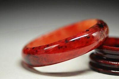 Excellent Chinese natural Old jade beautiful bracelet bangle a4
