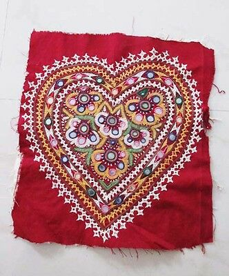 New 2017 Vintage Embroidered Banjara Mirror Work Tapestry Wall Hanging Decor