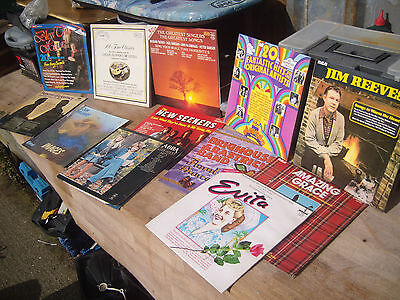 """Job Lot Of Assorted  12"""" Vinyl Lps -Collector Opportunity!"""