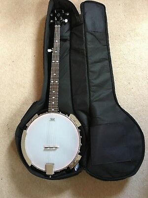 New Eastcoast Banjo 5 String With Soft Case