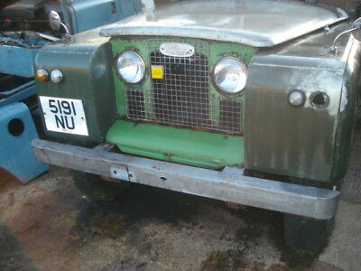 Landrover Series 2A 1963 - 7 Seat Station Wagon - Barnfind