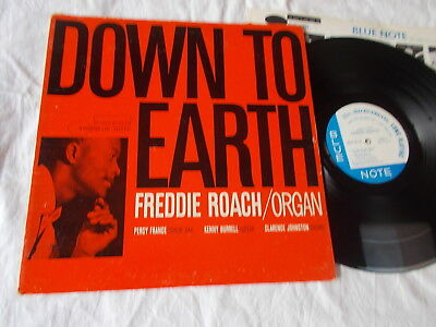 Freddie Roach - Down To Earth       Rare US Blue Note LP + inner   Mod Jazz