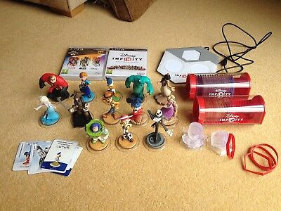Disney Infinity 1.0 3.0 Collection Power Discs Base Figure Lot PS3 PlayStation 3