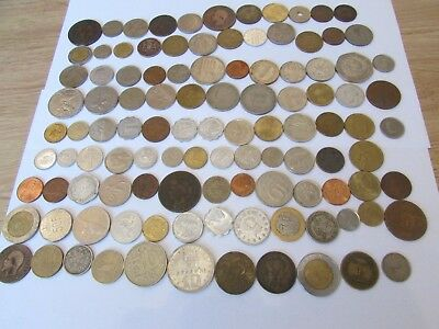 Approx 120  World Coins    Uk Delivery Only