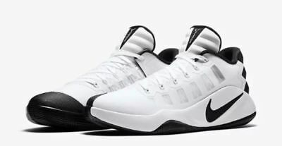 the best attitude 59b1c 8a096 New NIKE Hyperdunk 2016 Low Men s Basketball Shoes White Black 844363 100