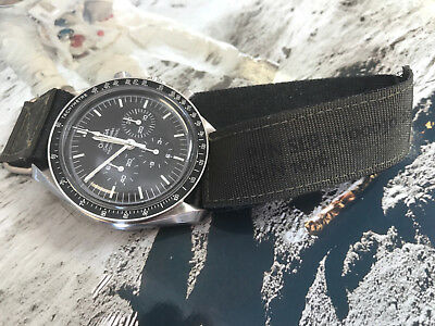 Replica of NASA strap for Omega Speedmaster Moonwatch made of VELCRO* material