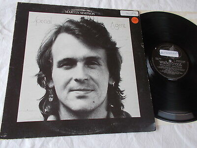 Martin Simpson - Special Agent         Rare UK Folk Rock    Private LP