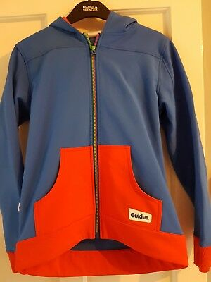 Girl Guides Official Tracksuit top and Polo Shirt. 30in