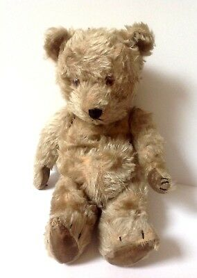 Vintage 1930's Jointed Teddy Bear