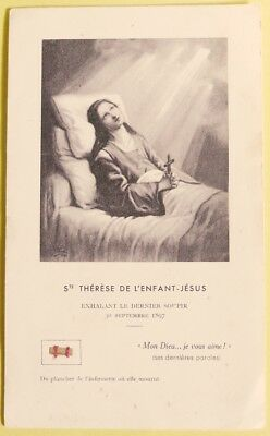 442.st Therese Wood Relic