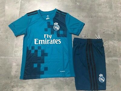 Maillot enfant + short du Real Madrid (Third) 2017/2018
