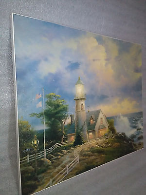 Thomas Kinkade A Ligth in the Storm Lithograph  No.2553 13950