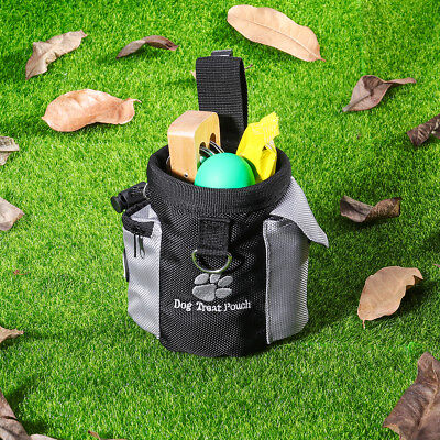 Pet Dog Training Treat Snack Bag Pouch Storage Holder Dispenser With Clip