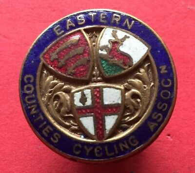 Eastern Counties Cycling Assocn. Badge
