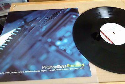 Pet Shop Boys  Where The Streets Have No Name (Remixed) - 12RX 6285 1ST PRESSING