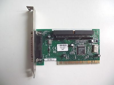 Working - Adaptec PCI SCSI Card AVA-2902A - 25 PIN D External Connector