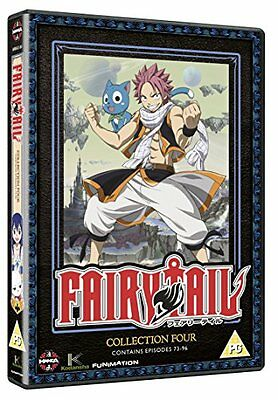 Fairy Tail Collection Four (Episodes 73-96) [DVD][Region 2]