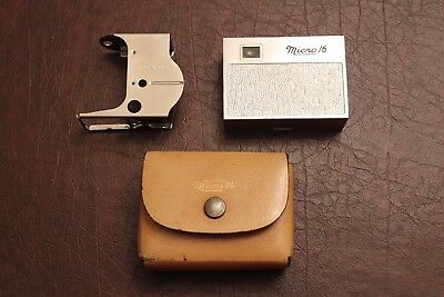 Whittaker Micro 16 Camera w/ Case and Eye Level Finder