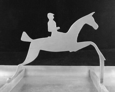 Patent Applied For WENDELL AUGUST Forge Tray HORSE Fox Hunt Hunting with Hounds