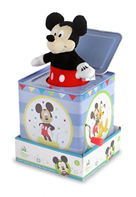 Jack In The Box Instrument Toy Kids Preferred Plays Mickey Mouse March Song