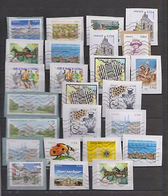 Timbres gommés 2017 :Le havre,Philippines France, Cherbourg, ...