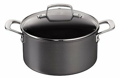 Jamie Oliver 24cm 5 Litre Tefal Hard Anodised Non Stick Stew Pot RRP £68.00