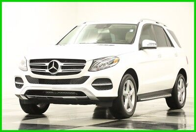 2017 Mercedes-Benz GLE 350 GLE 350 Leather GPS Polar White SUV Used Like New Heated Tan Seats Navigation Bluetooth 16 15 2016 17 Camera 1 Owner
