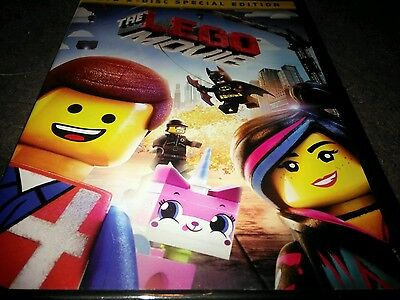 The LEGO Movie (DVD, 2014, 2-Disc Set, Special Edition) New