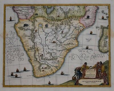 Southern Africa - Aethiopia Inferior Vel Exterior By John Ogilby 1670.