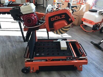 "GÖLZ BS400-P Masonry Saw / ***FREE*** 16"" Blade with Purchase"
