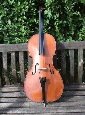 Antique Childs (1/8 Size) Cello,French