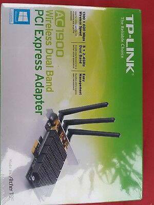 TP-LINK ARCHER T9E Triple Aerial Wireless PCI Express WiFi Card 1.9Gbps 802.11ac