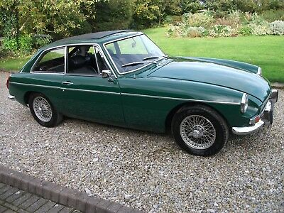 MGB GT, 1971, Wire Wheels, Chrome Bumpers, Overdrive, Tax Exempt,Webasto Sunroof