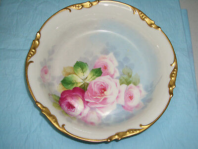 Gorgeous Hand Painted Vintage China Bowl made in France