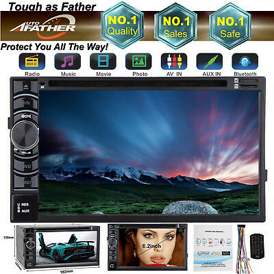 For Ford Digital Double 2 DIN Car Stereo Radio DVD Player Bluetooth MP4 In dash