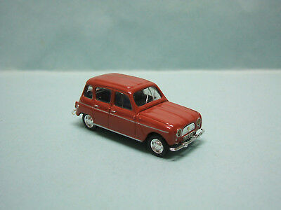 Universal Hobbies / Atlas - RENAULT 4 4L 1962 Marron Voiture HO 1/87