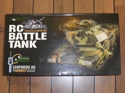 Heng Long 1/24 Leopard A5 II BB firing radio control (RC) RM Main Battle Tank