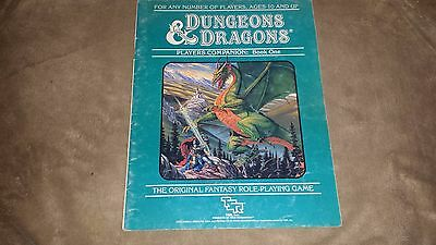 Dungeons & Dragons - Players Companion Book One - TSR  - 1984