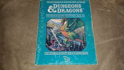 Dungeons & Dragons - Dungeon Masters Companion Book Two - 1st Printing - 1984