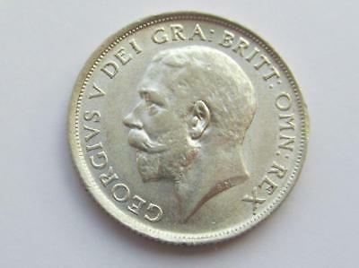 George V 1915 silver shilling - Excellent collectable coin