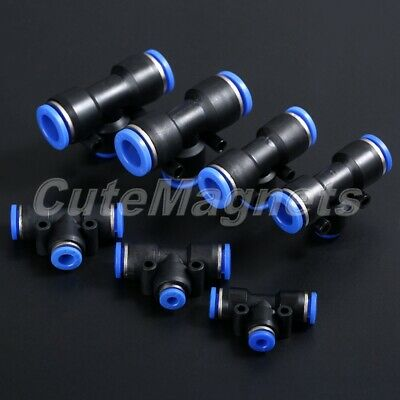 Pneumatic Push In Fittings Air Hose Tube Pipe Connector Speed Joiner Convenient