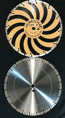 "14"" Hurricane Combination Diamond Blade - Exclusive #1 Selling Blade In Usa!"