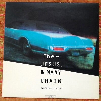 """Jesus And Mary Chain - Sometimes Always - Uk 4-Track 10"""" Ep - Limited Edition"""