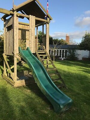 Childrens' Sturdy Slide and Play Tower