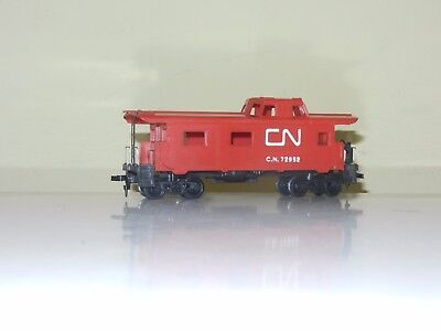 Tyco 34' End Caboose Car Canadian National Cn Rail Ho Scale Excellent