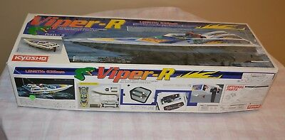 Viper -R Radio Controlled Electric High Performance Sports Boat By Kyosho