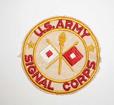 Signal Corps Pocket Patch WWII US Army P5124