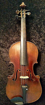 Very Old Ole Bull Violin Amati Label 1688 Antique