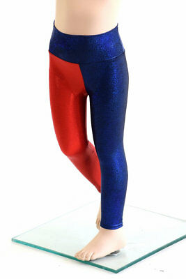 Harley Quinn and Wonder Woman Leggings for KIDS  4T- 6T